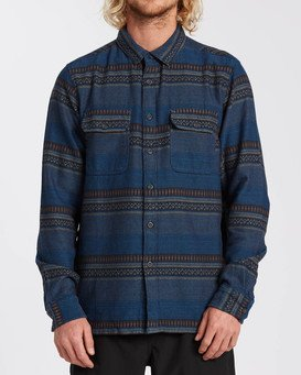 Desert Seas Jacquard - Long Sleeve Shirt for Men  U1SH13BIF0