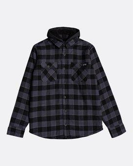 All Day Sherpa Boys Flannel - Overshirt for Boys  U2SH05BIF0