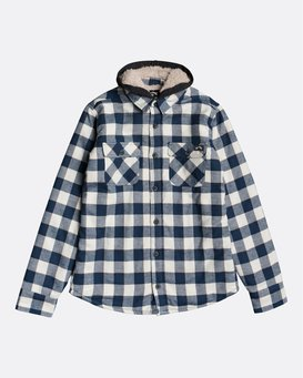 All Day Sherpa Boys Flannel - Overshirt for Boys  U2SH05BIF0