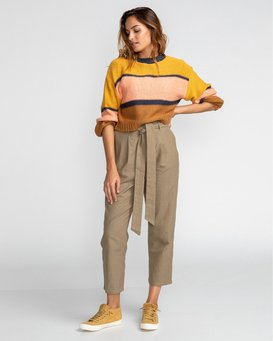 Sand Stand - High Waist Trousers for Women  U3PT09BIF0