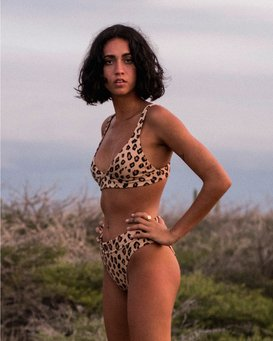 Wild Ways Band Tri - Bikini Top for Women  U3ST01BIF0