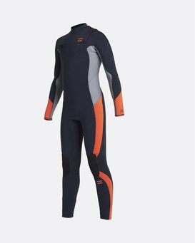 Absolute 3/2mm GBS - Chest Zip Wetsuit for Boys  U43B65BIF0