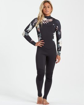 Surf Capsule 3/2mm Salty Dayz - Wetsuit for Women  U43G30BIF0