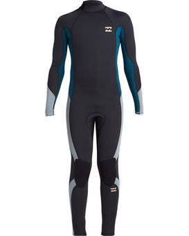 Absolute 4/3mm GBS - Back Zip Wetsuit for Boys  U44B12BIF0