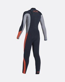 Absolute 4/3mm GBS - Chest Zip Wetsuit for Boys  U44B13BIF0