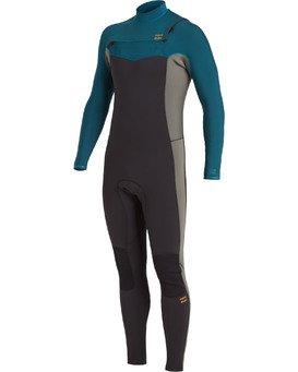 Revolution 4/3mm GBS - Chest Zip Wetsuit for Men  U44M56BIF0
