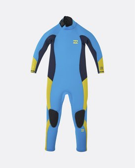 Absolute 4/3mm GBS - Back Zip Wetsuit for Toddlers  U44T10BIF0