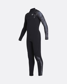 Furnace Carbon 5/4mm Comp GBS - Chest Zip Wetsuit for Boys  U45B10BIF0