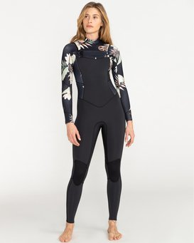 Surf Capsule 5/4mm Salty Dayz - Wetsuit for Women  U45G30BIF0