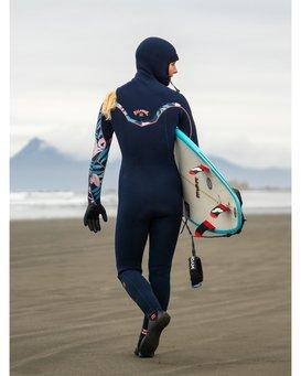 Furnace Carbon 5/4mm Comp - Chest Zip Wetsuit for Women  U45G33BIF0