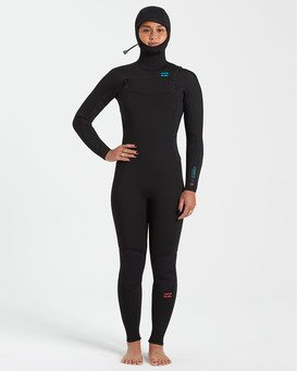 Synergy 5/4mm - Chest Zip Wetsuit for Women  U45G35BIF0