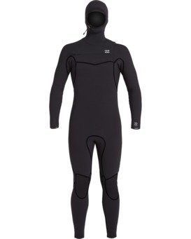 Furnace Carbon 5/4mm - Hooded Wetsuit for Men  U45M52BIF0