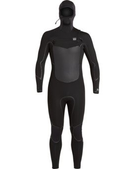 Absolute 5/4mm GBS - Hooded Chest Zip Wetsuit for Men  U45M57BIF0