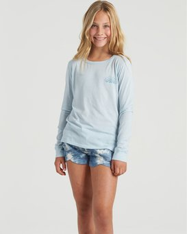 Show Gratitude - Long Sleeve Shirt for Girls  U8LS03BIF0