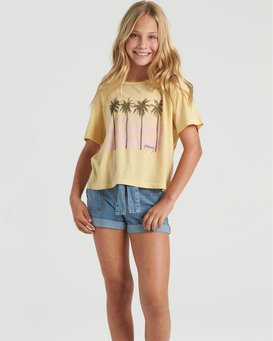 Poolside View - T-Shirt for Girls  U8SS01BIF0