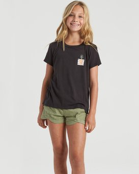 Modernist Pineapple- T-Shirt for Girls  U8SS03BIF0