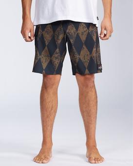 "Diamonds AI Pro 18.5"" - Board Shorts for Men  V1BS07BIW0"