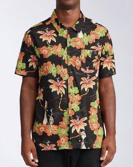 Sundays Vacay Grinch - Short Sleeve Shirt for Men  V1SH11BIW0