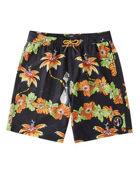 Grinch Aloha Layback - Board Shorts for Boys  V2LB02BIW0