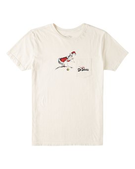 Grinch Stitch - Pocket T-Shirt for Boys 2-7  V2SS08BIW0