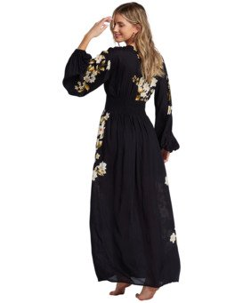 Night Bloom - Maxi Dress for Women  V3DR02BIMU