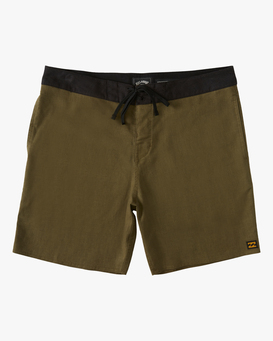 "Adventure Division Surftrek Hemp 17"" - Recycled Board Shorts for Men  W1BS56BIP1"