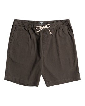 """Layback Solid 18"""" - Elasticated Shorts for Men  W1WK37BIP1"""