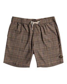 "Layback Yarn Dye 18.5"" - Elasticated Shorts for Men  W1WK38BIP1"