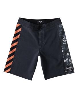 "Bad Billy DBah 17"" - Board Shorts for Boys  W2BS10BIP1"
