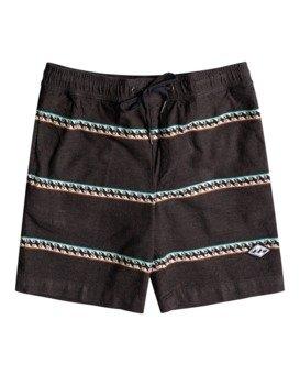 "Larry Jacquard 15"" - Elasticated Shorts for Boys  W2WK15BIP1"
