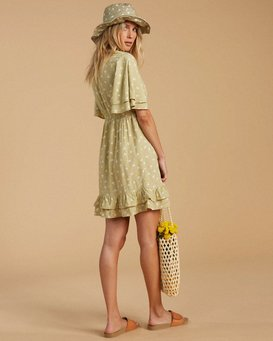 Salty Blonde In Bloom - Mini Dress for Women  W3DR34BIP1