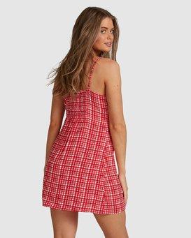 Gingham - Mini Dress for Women  W3DR57BIP1