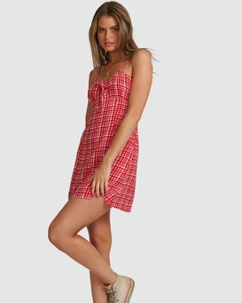 Gingham - Mini Dress for Women  W3DR57BIP1