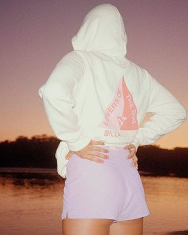 Catching Waves - Hoodie for Women  W3HO03BIP1