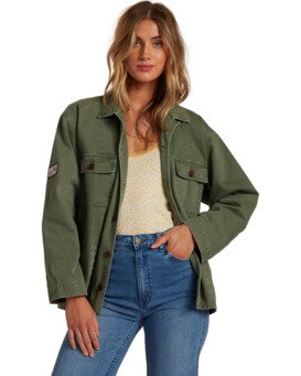 Cannon - Military Style Jacket for Women  W3JK08BIP1