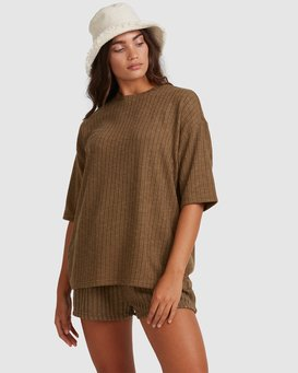 Sunset - Oversized Top for Women  W3KT50BIP1