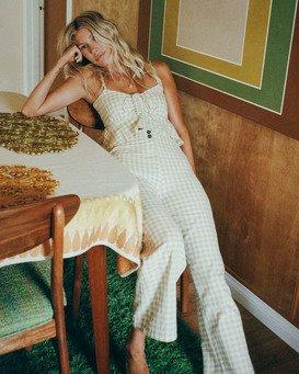 Salty Blonde Break Point - Cropped Trousers for Women  W3PT09BIP1