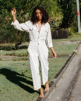 Just Work It - Beach Jumpsuit for Women  W3PT14BIP1