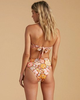 Salty Blonde Back Then Underwire - Recycled Bikini Top for Women  W3ST36BIP1