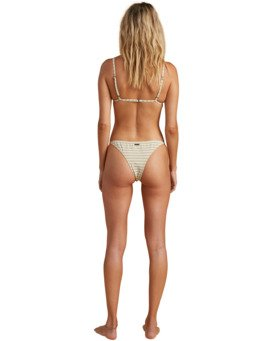 Salty Blonde Meet Your Matcha Tri - Recycled Bikini Top for Women  W3ST38BIP1