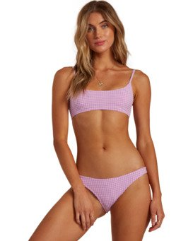 Surf Check Bralette - Bikini Top for Women  W3ST53BIP1