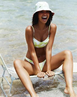 Sun Drenched Vintage - Bralette Bikini Top for Women  W3ST90BIP1