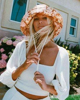 Salty Blonde Coastal Breeze - Cropped Top for Women  W3TP23BIP1
