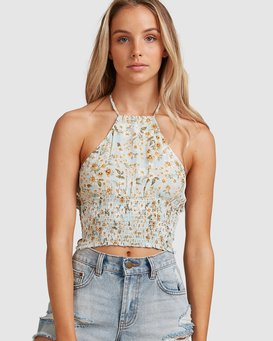 DEL MAR HALTER TOP  W3TP51BIP1