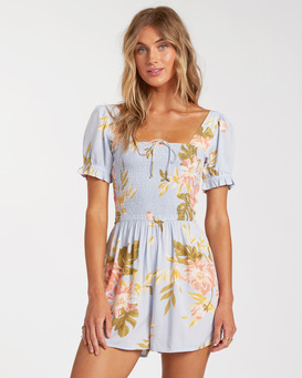 Flirty Day - Short Sleeve Playsuit for Women  W3WK04BIP1
