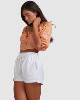 Sunny Dayz - High Waisted Shorts for Women  W3WK30BIP1