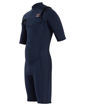 2/2mm Absolute - Short Sleeve Chest Zip Springsuit for Boys  W42B50BIP1