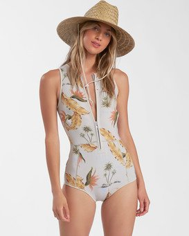 Surf Capsule Sol Sistah - Sleeveless Springsuit for Women  W42G52BIP1