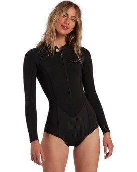 Surf Capsule Salty Dayz - Long Sleeve Springsuit for Women  W42G53BIP1