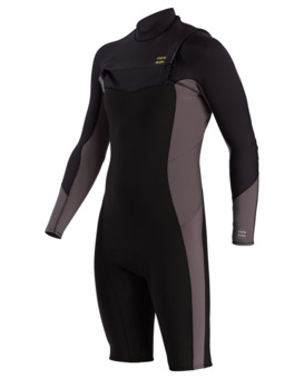 Absolute - 2/2mm Chest Zip GBS Long Sleeve Spingsuit for Men  W42M64BIP1